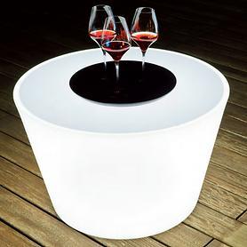 Couchtisch Lounge H 51 x D 80 cm