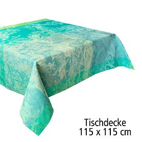 Tischdecke 115 x 115 cm Serie Esprit jardin prairie