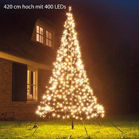 LED-Weihnachtsbaum 400 LEDs H 420 cm