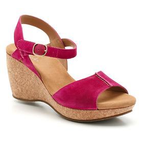 Keilabsatz-Sandalette Patience Kelly himbeer Gr.40