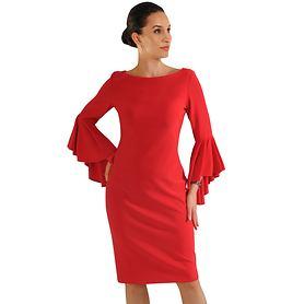 Kleid Edith rot Gr. 40