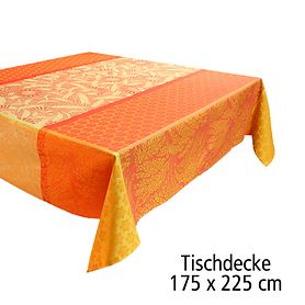 Tischdecke 175 x 225 cm Tischgarnitur Graminée