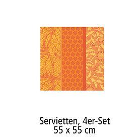 Servietten, 4er-Set,55 x 55 cm Tischgarnitur Graminée