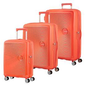 American Tourister Soundbox Trolleys, spicy peach, 4 Rollen