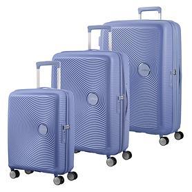 American Tourister Soundbox Trolleys, denim blue, 4 Rollen