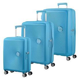 American Tourister Soundbox, Trolleys, summer blue, 4 Rollen