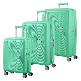 American Tourister Soundbox Trolleys, deep mint, 4 Rollen
