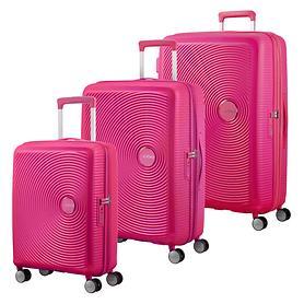 American Tourister Soundbox Trolleys, lighning pink, 4 Rollen