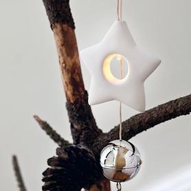 LED-Anhänger Olina Star batteriebetrieben