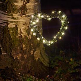 LED-Garden Heart big batteriebetrieben