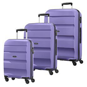 American Tourister Bon Air Trolleys, lavender purple, 4 Rollen