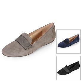 Veloursleder-Loafer Charlene