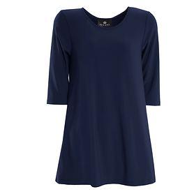 3/4 Arm Shirt Thea blau Gr. 46