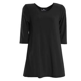 3/4-Arm-Shirt Thea schwarz Gr. 42