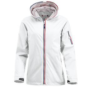 Damen-Regenjacke Sea weiß, Gr. XL