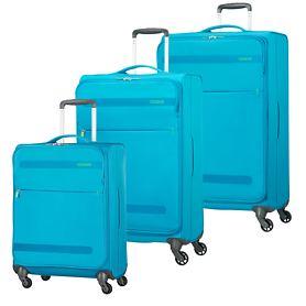 American Tourister Herolite Trolleys, mighty blue, 4 Rollen