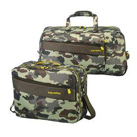 travelite Kite, Reisetasche und Bordtasche, camouflage