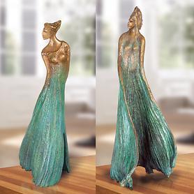 Skulpturen Ginkgo Androgyn & Ginkgo Biloba