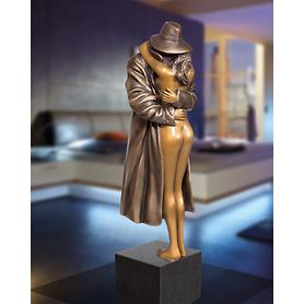 Skulptur The Kiss