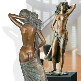 Skulptur Am anderen Ufer