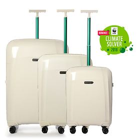 Epic Phantom Bio Trolleys, natural white, 4 Rollen