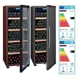 Einzonen-Weinkühlschrank für bis zu 194 Fl.