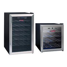 Einzonen-Weinkühlschrank für 16 oder 28 Fl.