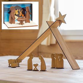 Geschenk Krippe & Krippe Simply Christmas