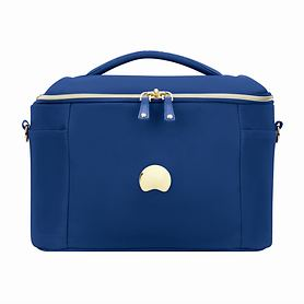 Delsey Montrouge, 25 cm, Beauty Case, Blau