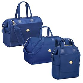 Delsey Montrouge Reporter und Reisetasche, Blau