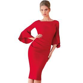 Kleid Amalia rot Gr. 38