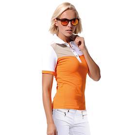 Poloshirt Meryl mango Gr. 40