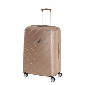 Travelite Kalisto, 55 cm, Trolley, champagner, 4 Rollen, Kabinengepäck