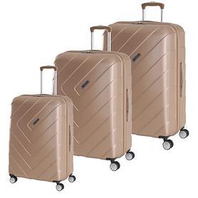 Travelite Kalisto Trolleys, champagner, 4 Rollen