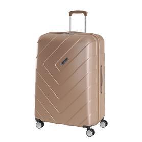 Travelite Kalisto, 67 cm, Trolley, champagner, 4 Rollen