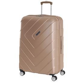 Travelite Kalisto, 76 cm, Trolley, champagner, 4 Rollen
