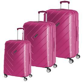 Travelite Kalisto Trolleys, pink, 4 Rollen