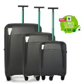 Epic Phantom Bio Trolleys, forest black, 4 Rollen