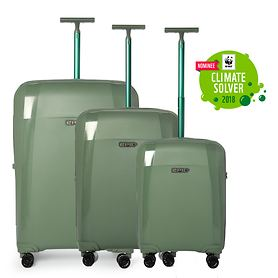 Epic Phantom Bio Trolleys, seagrass green, 4 Rollen