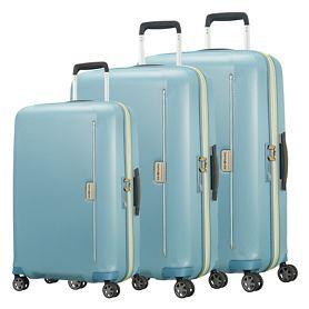 Samsonite Mixmesh Trolleys, niagara blue/yellow, 4 Rollen