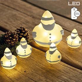 LED-Weihnachtsmann batteriebetrieben