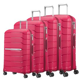 Samsonite Flux Trolleys, granita red, 4 Rollen