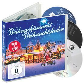 Weihnachtslieder 2 CDs & DVD