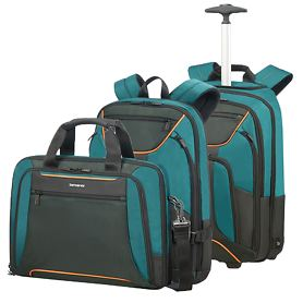 Samsonite Kleur Businesstaschen, Green/Dark, 4 Rollen