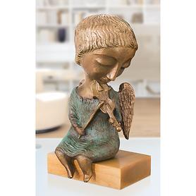 Skulptur Engel mit Geige von Elya Yalonetski