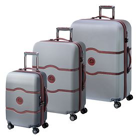 Delsey Chatelet Air Trolleys, Silber, 4 Rollen