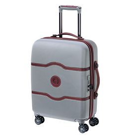Delsey Châtelet Air, 60,5 cm, Trolley, Silber, 4 Rollen