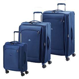 Delsey Montmartre Air Trolleys, Meerblau, 4 Rollen