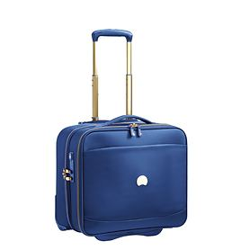 Delsey Montrouge Trolley Bordcase, Blau, 2 Rollen