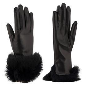 Nappaleder-Handschuhe Chic